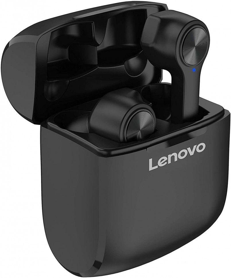 Слушалки с микрофон Lenovo HT20, TWS, черни
