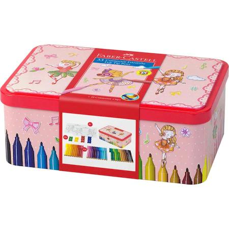 Флумастери Faber-Castell, 33 цвята, Ballerina Box Connector