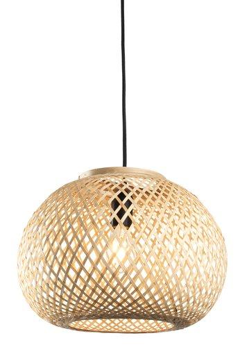 Полилей SIGVARD  Ø35xВ25см бамбук/дърв.