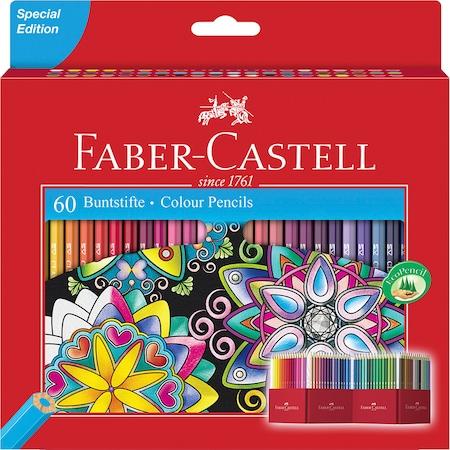 Цветни моливи Faber Castell, Специално издание, 60 цвята