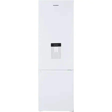 Хладилник с фризер Heinner HC-H273WDF+, 260 л, Клас F, Диспенсър за вода, LED светлина, H 176 см, Бял