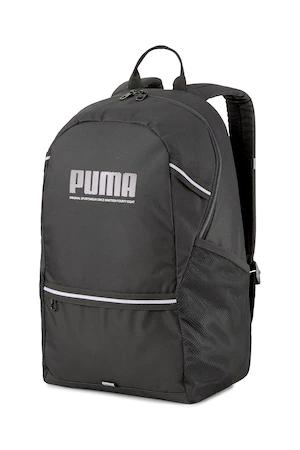 Раница Puma Plus Унисекс с лого, Черен