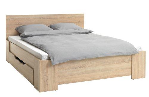 Рамка за легло HALD 160×200 дъб