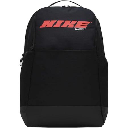 Раница Nike Brasilia 9.0 PX GFX, Черен/Червен, MISC