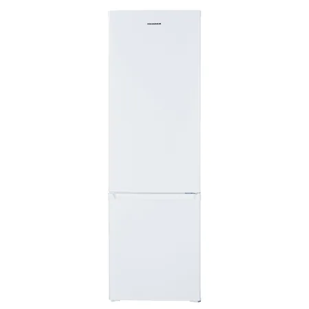 Хладилник с фризер Heinner HC-H273WF+, 264 л, Клас A+, LED осветление, Механичен контрол, Регулируем термостат, Автоматично размразяване на хладилника, H 176 см, Бял