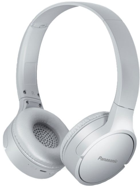 Безжични слушалки Panasonic HF420B с микрофон, бели