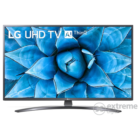 Телевизор LG 50UN74003LB, 50″ (127 cm) 4K/UHD HDR Smart TV, DVB-T2/C/S2, Wi-Fi, LAN, Bluetooth, 3x HDMI, 2x USB