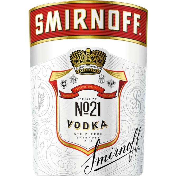 Водка SMIRNOFF NO.21