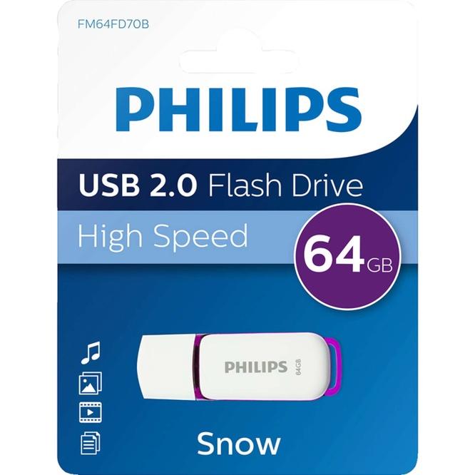 PHILIPS USB ПАМЕТ 64 GB