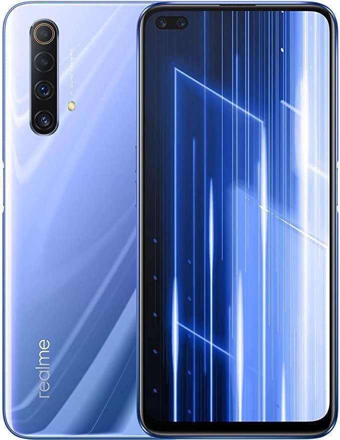 Смартфон Realme X50, 5G, Dual Sim, 6/128GB, сив