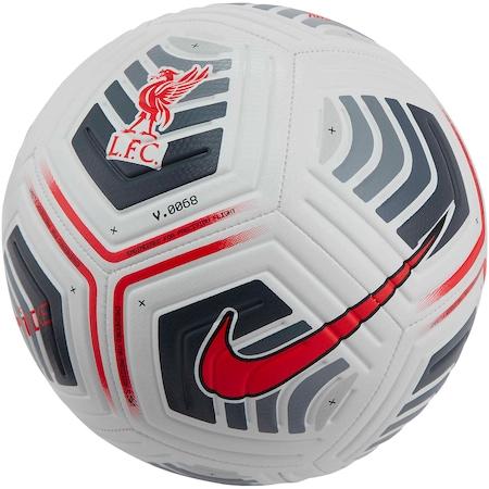 Футболна топка Nike Liverpool FC Strike, Бял/Черен, 5