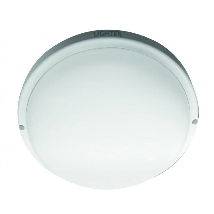 LED плафон Lightex Vani 12W бял със сензор за движение