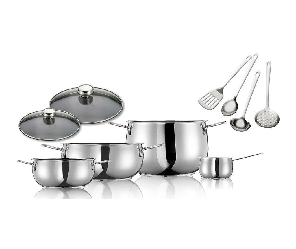 Комплект съдове за готвене River 10 части