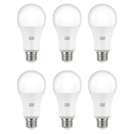 Комплект 6 крушки LED Star-Light, 15 W (100 W), 1350 лумена, A++, E27, Студена светлина, 6500K
