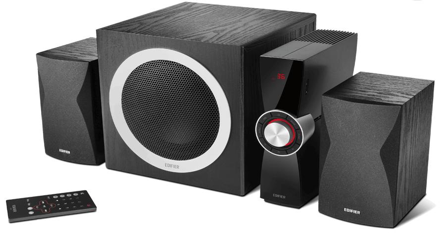 Аудио система Edifier C3X – 2.1, черна