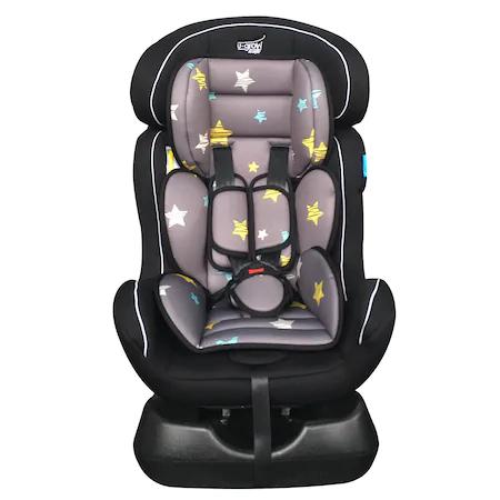 Столче за кола U-Grow U213-STA, 0-25 кг, Звезди, Черен/Сив
