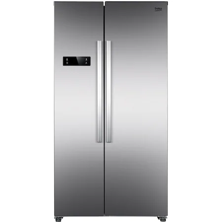 Хладилник Side by side Beko GNO4331XPN, 433 л, Клас E, NeoFrost Dual Cooling, Дисплей touch, H 177, Inox