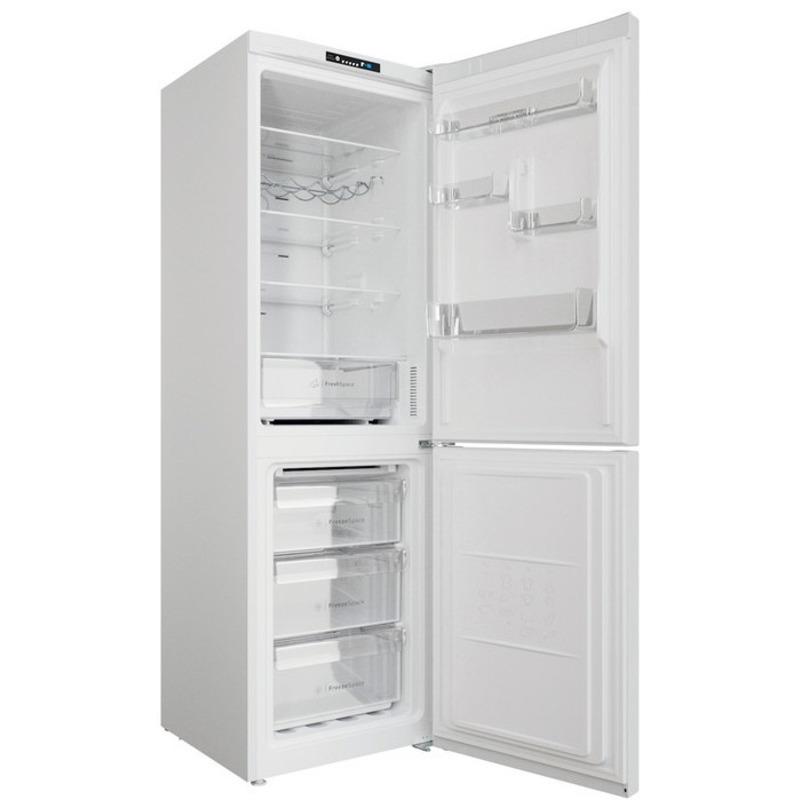 Хладилник с фризер Indesit INFC8 TI21W , 335 l, F , No Frost , Бял