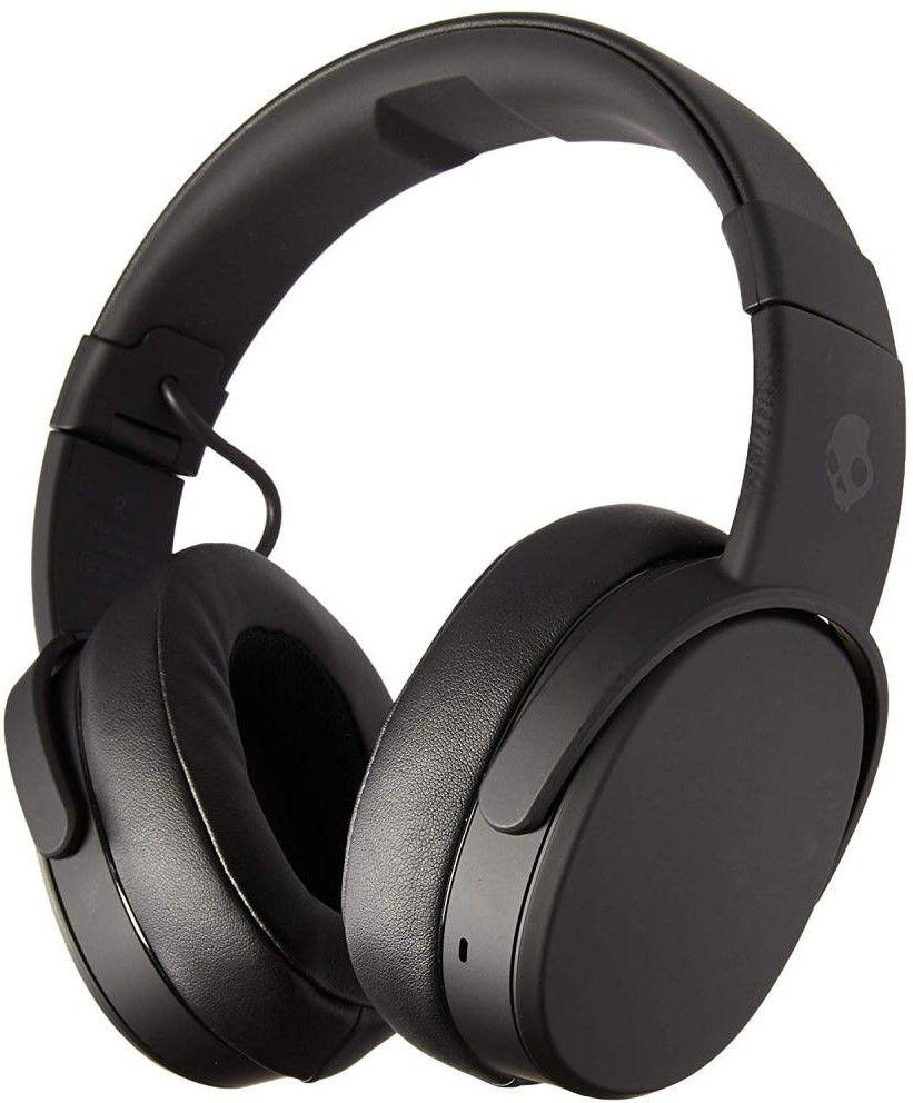 Слушалки Skullcandy Crusher Wireless, black/coral с микрофон