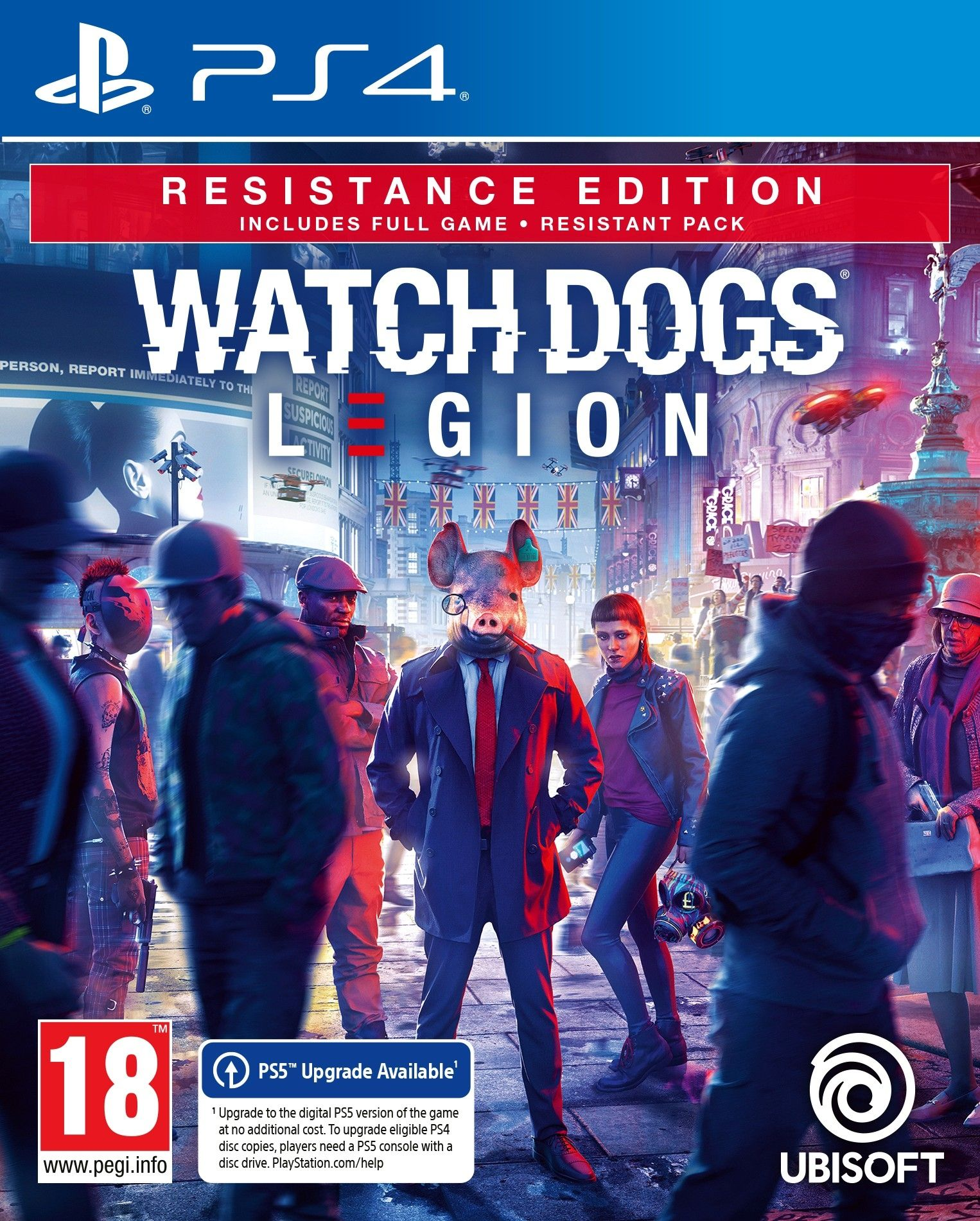 Watch Dogs: Legion – Resistance Edition (PS4)