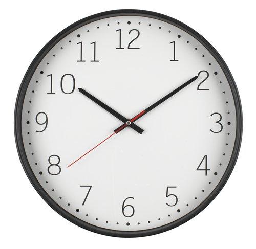Стенен часовник TOBIAS Ø41см тих ход