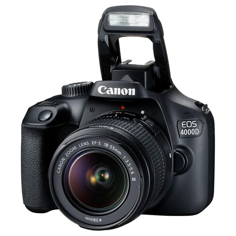 DSLR фотоапарат CANON EOS 4000D EF-S 18-55 DC 18.0 MPx, WI-FI