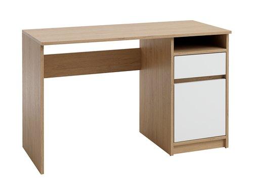 Бюро BILLUND 54×120 см бяло/дъб