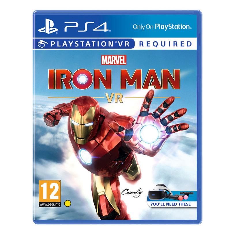 Игра P4 MARVEL'S IRON MAN VR PS4
