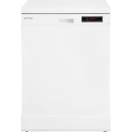 Съдомиялна Arctic FSAE60W1, 14 комплекта, 6 програми, Клас F, Hot Air Drying, Rapid+, Motor Silent Inverter, 60 см, Бяла