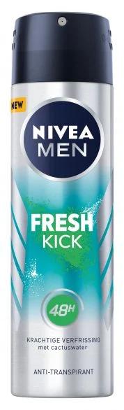 NIVEA MEN Deo Спрей мъжки Fresh Kick, 150 мл