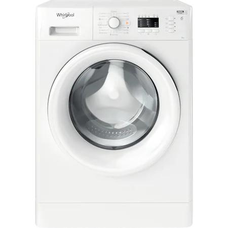 Пералня Slim Whirlpool FWSL61051WEEN, 6 кг, 1000 об/мин, A+++, 6th Sense, FreshCare+, Бял