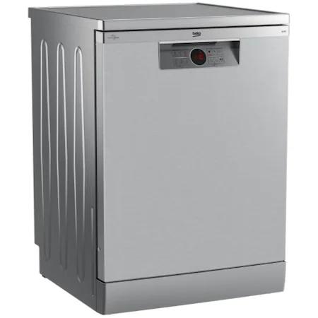 Съдомиялна Beko BDFN26430X, 14 комплекта, 6 програми, Клас D, HygieneIntense, Automatic Door Opening, 60 см, Сребрист
