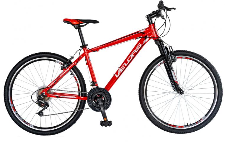 Велосипед MTB 26″ Velors V2671, червен