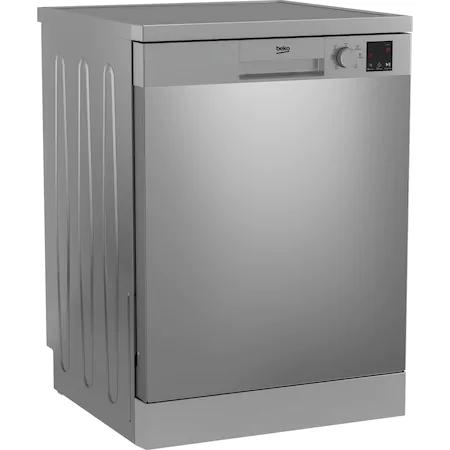Съдомиялна Beko DVN06430X, 14 комплекта, 6 програми, Клас A+++, Automatic Door Opening, AutoGlassShield, 60 см, Inox против пръстови отпечатъци