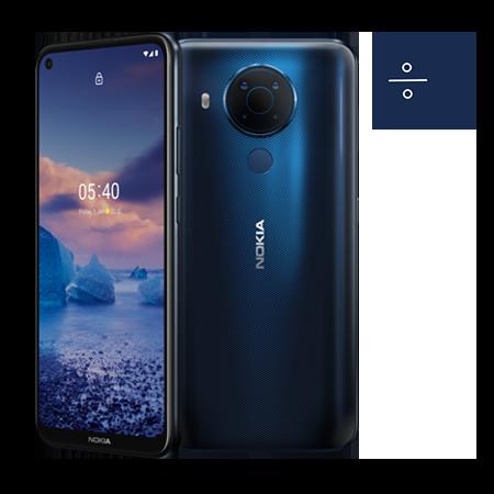 Смартфон NOKIA 5.4 64GB Dual + Месечен абонамент Тотал+ 31.99 лв/м