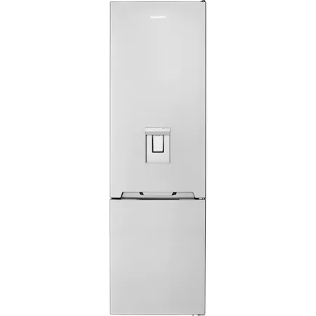 Хладилник с фризер Daewoo RN-308RDQM, 330 л, Клас E, No Frost, Диспенсър за вода, H 187 см, Inox