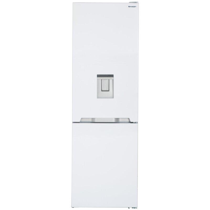 Хладилник Sharp SJ-BA10IMDW2 с фризер*** , 324 l, A++ , No Frost , Бял