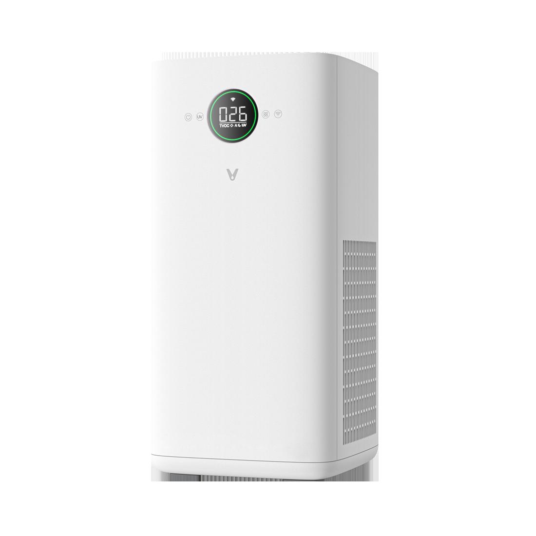 Пречиствател за въздух Viomi Smart Air, Wi-Fi App, CADR 500 м3/ч, UV лампа, Функция против комари, Температурен сензор, Бял