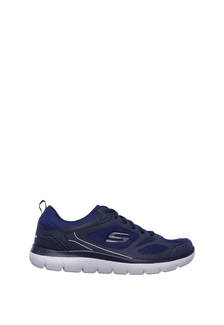 Спортни обувки Summits – South Rim с кожа и мрежеста материя