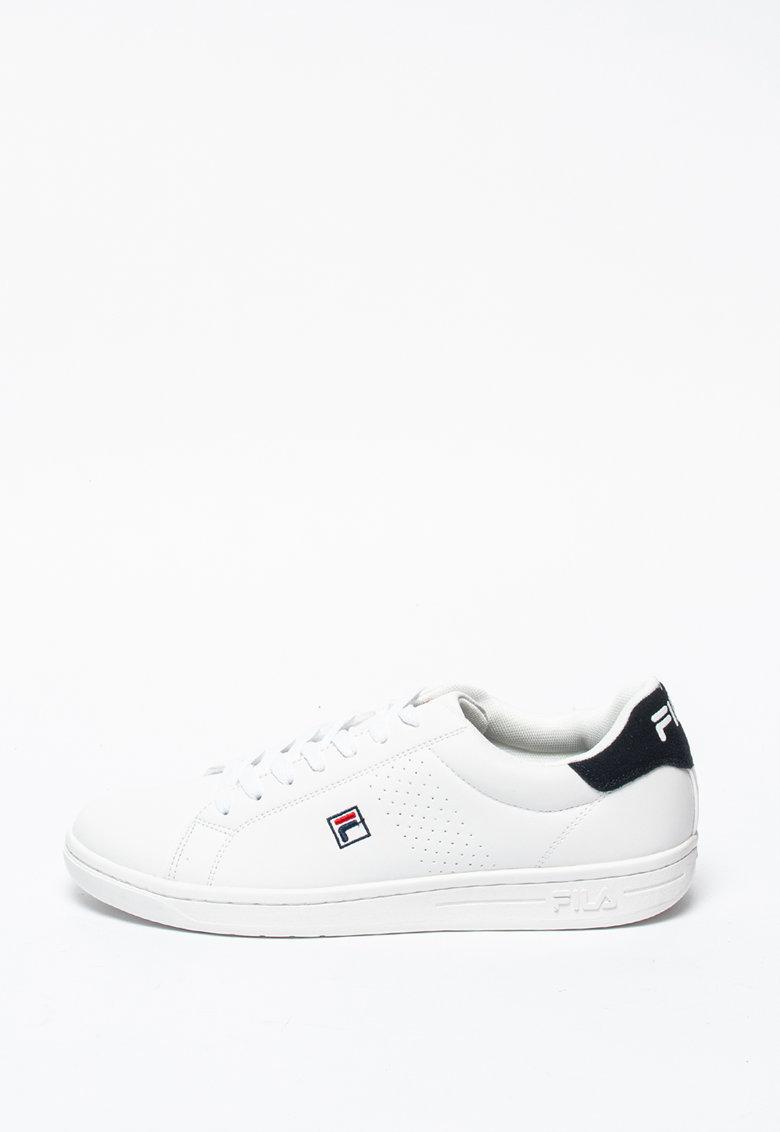 Спортни обувки Fila Crosscourt от еко кожа с велур