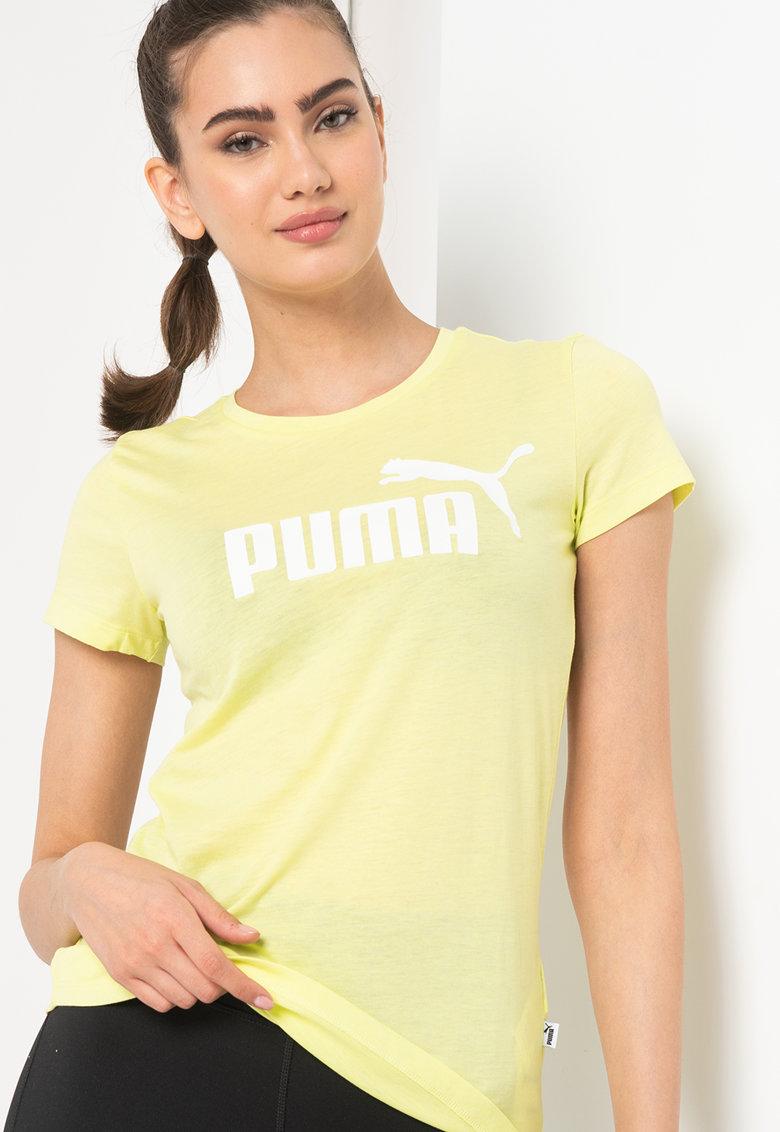 Фитнес тениска Puma Ess+ с лого