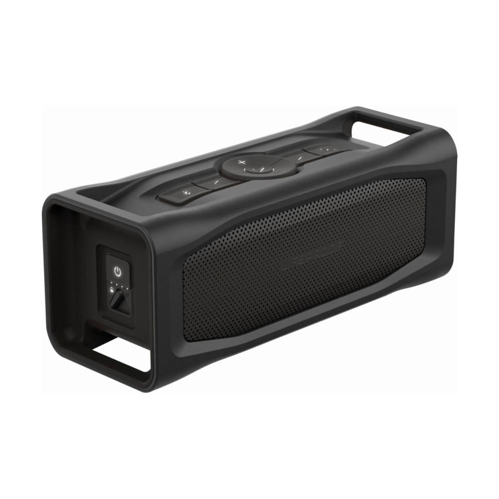 Водоустойчив безжичен спийкър LifeProof  с микрофон и вградена батерия, зареждащ мобилни устройства (черен)