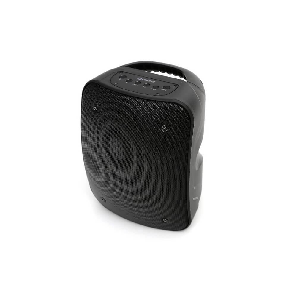 Безжичен блутут спийкър Platinet Speaker PMG250 10W BT 5.0 с FM радио, AUX вход и USB порт (черен)
