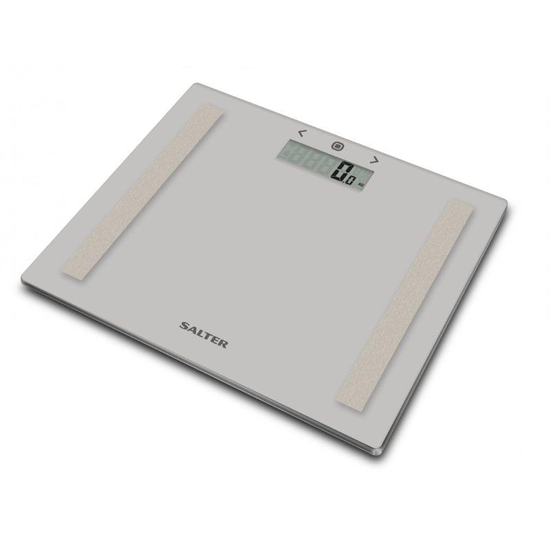 Електронен кантар Salter 9113GY3R за баня с функция за анализ на данни