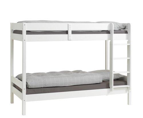 Двуетажно легло VESTERVIG 2x90x200 бяло