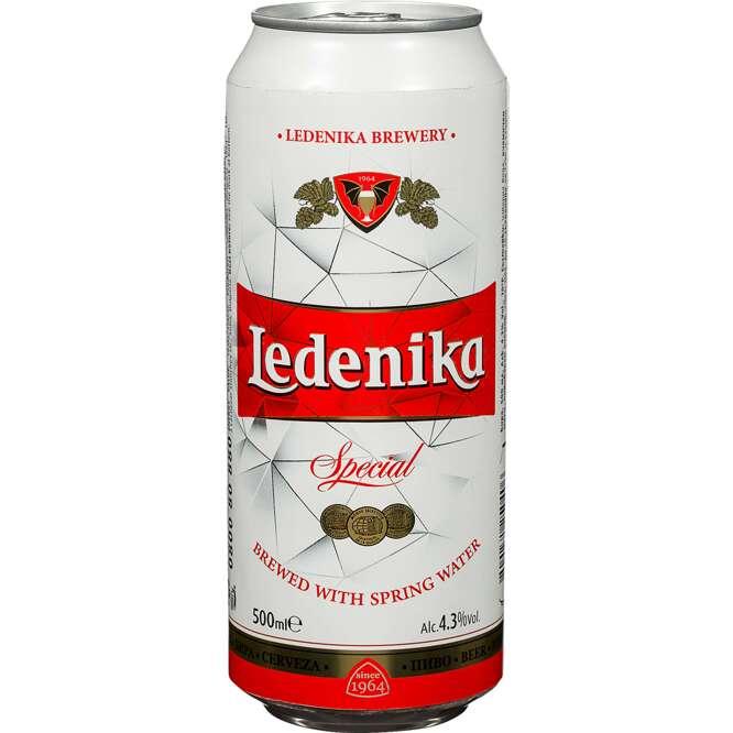 Светло пиво LEDENIKA