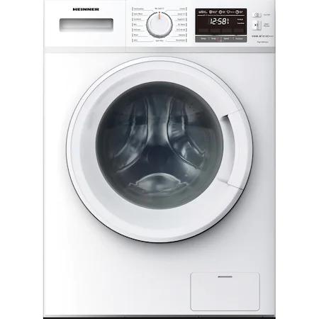 Пералня Heinner HWM-M7014E+++, 7 кг, 1400 об/мин, Клас E, Отложен старт, Селектор за скоростта на центрофугиране и температурата на пране, Бял