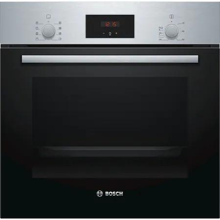 Фурна за вграждане Bosch HBF153BS0, Електрическа, Самопочистване EcoClean Direct, 66 л, Клас A, Инокс