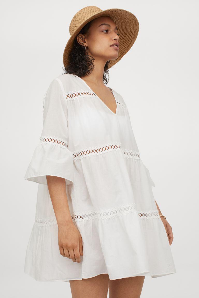 Плажна рокля H&M от памук