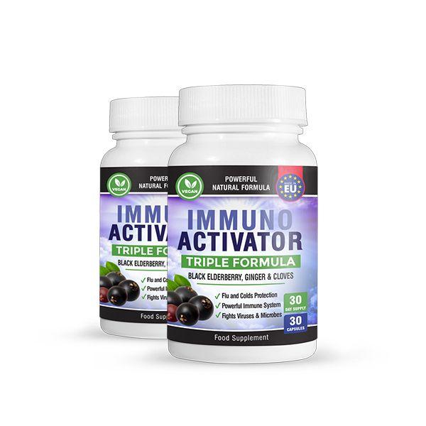 2 броя на цената на 1!IMMUNO ACTIVATOR – тройна формула – за силен имунитет, 30 капсули